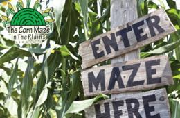 Two Tickets to The Corn Maze in The Plains