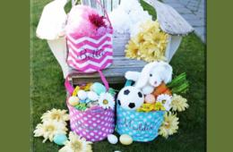 $9.99 for Personalized Easter Basket or $16.99 for Two Baskets (Up to 67% Off)