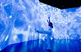 ARTECHOUSE's Crystalline - A Submerge by Artechouse Experience