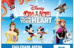 Up to 50% Off Select Shows to Disney On Ice Presents Follow Your Heart