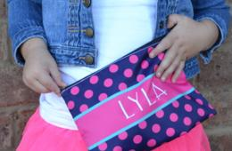 $13 for Personalized Pencil Bag OR $50 for 5! Includes Shipping! (Up to 50% Off)