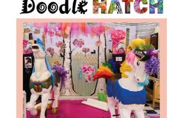 BRAND-NEW DoodleHATCH Interactive Art Exhibit Family 4 Pack Admission