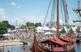 Viking Ship Tour at The Wharf - Child Ticket