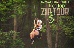 Treetop Zipline Tour at Salamander Resort & Spa