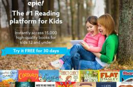 A Library at Your Child's Fingertips - Try Epic! FREE for 30 Days