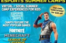 $30 Off Youth Esports & Gaming Summer Camps