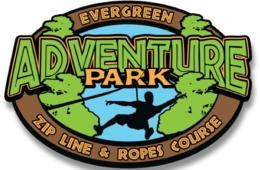 $35 Per Person for the BRAND NEW Evergreen Sportsplex Adventure Zip Line & Rope Course Bundle in Leesburg OR $280 for Group of 10