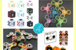 $9 for Fidget Toys - Choose from LED Light Up, Glow In the Dark, Batman, Cubes and More! ($18 Value - 50% Off)