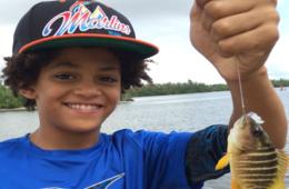 Fishing Fun Under the Sun Camp at Anglin's Fishing Pier