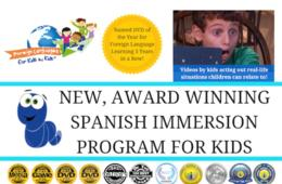 $69 for 12-Month Membership to Award-Winning Online Spanish Program with Foreign Languages for Kids by Kids ($89.99 Value - 24% Off)