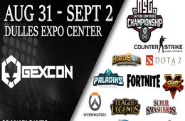 Friday Admission to GEXCon at the Dulles Expo Center