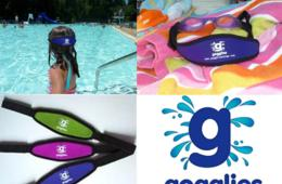 $18 for TWO Pair of Gogglies - Comfortable Swim Goggles with Soft Strap - Includes Shipping! (67% Off)