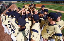 $10 for One Ticket + $10 Concession Voucher to Georgia Tech Baseball - April 2 & 15 and May 7 & 20 ($18 Value - 45% Off)