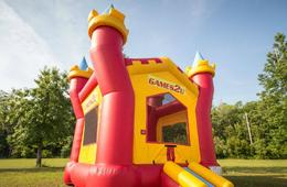 Games2U DMV Inflatable Castle Jumper + Candy Cannon Mobile Entertainment Party