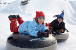 $149+ for Overnight Snow Tubing and Ice Skating Package for 4 at Heritage Hills Resort's AvalancheXpress (Up to 31% Off)