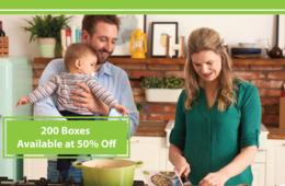 50% Off Your First HelloFresh Box With Code CERTIFIKID2017! Only 200 Boxes Available