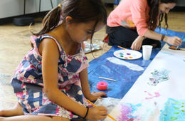 One Week of Art Squared Camp at The Highwood Theatre
