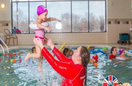 $150 for EIGHT Once a Week Group Swimming Lessons at British Swim School - Includes Membership Fee! Aspen Hill, Silver Spring & Wheaton ($250 Value - 40% Off)