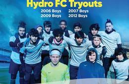 Hydro F.C. Soccer Boys Tryouts