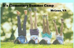 $165+ for It's Elementary Summer Camp for Ages 4 - 12 in McLean, VA - Includes Field Trips All Summer! (50% Off)
