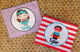 $13 for Personalized Cosmetic or Pencil Bag - Includes Shipping! OR $50 for 5! (Up to 50% Off)