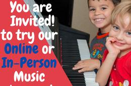 50% Off Registration for Online or In-Person Music Lessons at the International School of Music