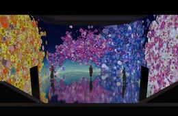 CertifiKID Exclusive! ARTECHOUSE's In Peak Bloom Exhibit