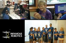 $400 for Infamous Robotics Expansion Camp for Ages 7-12 at George Mason University in Fairfax ($540 Value - 26% Off)