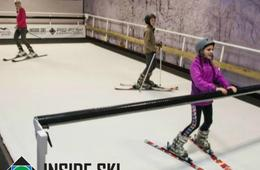 Inside Ski Training Center Group Ski or Snowboard Lessons
