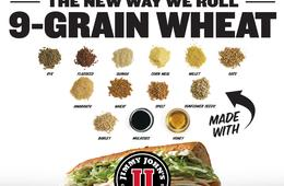Wheat Yeah Freak Yeah! Try Jimmy John's NEW 9-Grain Wheat Sub!
