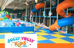 FLASH SALE! Jolly Yolly Kids Indoor Playground Pass