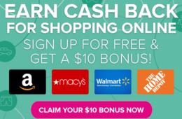 Get Paid for Shopping Online with ShopAtHome.com - Join FREE + Extra $10 Bonus!