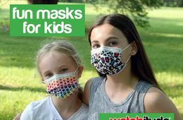 FUN 6-Pack of Disposable Face Masks for Kids by Watchitude