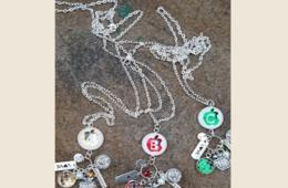 $11 for Initial Teacher Charm Necklace - Free Shipping! ($23.98 Value - 55% Off)