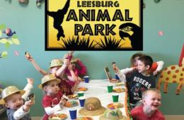 Leesburg Animal Park Safari Birthday Party