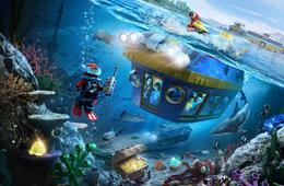 1-Day SEA LIFE® Hopper Ticket to LEGOLAND® California Resort