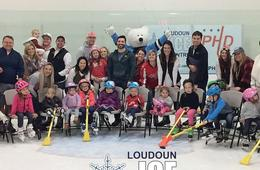 Loudoun Ice Centre Skating Birthday Party
