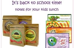 $19.95 for 4 Packs of Lunch Packers Lunch Box Notes + 20 Postcard Lunchcards – More than a Half Year of Jokes, Brain Teasers, Art Lessons and Fun Tidbits - Includes Shipping! ($52 Value – 62% Off)