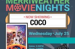 Family Package to Merriweather Movie Night: Coco - Kids FREE!