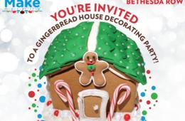 $9.99 for Gingerbread Decorating Activity at MAKE MEANING - Bethesda Row ($49.99 Value)