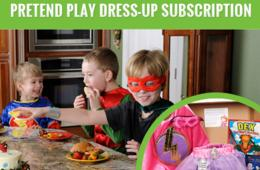 30% Off Your First Pretend Play Dress-Up Subscription Box from My Pretend Place + FREE Shipping on All Subscription Deliveries!