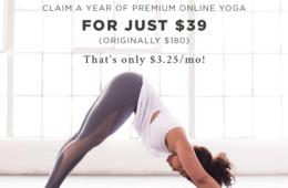 One Year of Unlimited Premium Online Yoga Classes From MyYogaWorks