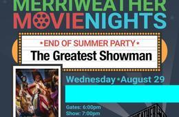 Family Package to Merriweather Movie Night: The Greatest Showman - Kids FREE!