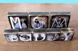 $30 for Set of Small or Large Photo Blocks from Waste Not Recycled Art– Shipping Included! (32% Off - $44 Value)