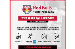 New York Red Bulls - Train @ Home Youth Programs