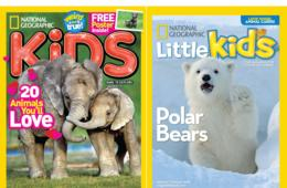 Up to 70% Off National Geographic Kids or Little Kids Magazine Subscription