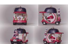 3-Game Nationals Baseball Holiday Ticket Gift Pack + FREE Nationals Bullpen Cart Ornament!