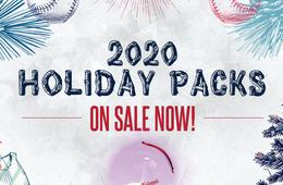 3-Game Nationals Baseball Holiday Ticket Gift Pack + FREE Light-Up Nationals Ornament!