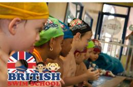 $160 for 8 Group Swimming Lessons at British Swim School - Includes 2017 Registration Fee! 7 Locations in Fairfax or Prince William County (40% Off)