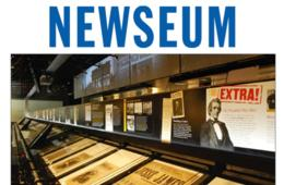 $19.50 for NEWSEUM Adult Admission - Child Ticket Option Too! (Up to 20% Off!)